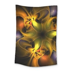 Art Fractal  Small Tapestry by amphoto