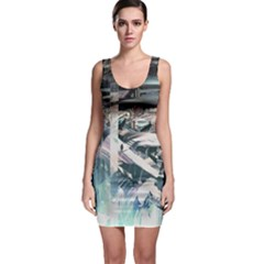 Explosion Background Dark  Bodycon Dress by amphoto
