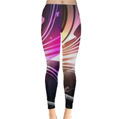 545 Patterns Lines Flying  Leggings  by amphoto