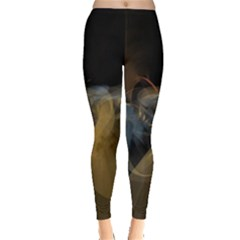 Background Blurred Lines Leggings  by amphoto