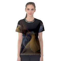 Background Blurred Lines Women s Sport Mesh Tee by amphoto