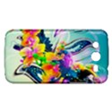 Parrot Abstraction Patterns Samsung Galaxy Mega 5.8 I9152 Hardshell Case  View1