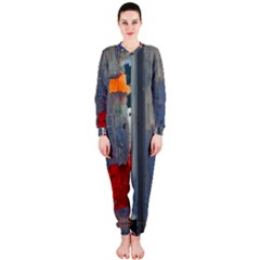 Abstract Paint Stain  Onepiece Jumpsuit (ladies)