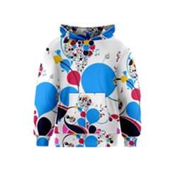 Patterns Colorful Bright  Kids  Pullover Hoodie