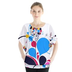 Patterns Colorful Bright  Blouse
