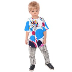 Patterns Colorful Bright  Kids Raglan Tee by amphoto