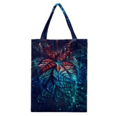 Fractal Flower Shiny  Classic Tote Bag by amphoto