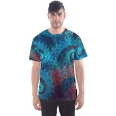 Abstract Patterns Spiral  Men s Sports Mesh Tee by amphoto
