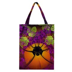 Patterns Lines Purple  Classic Tote Bag by amphoto