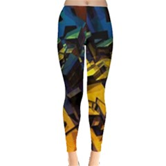 Background Bright Light  Leggings  by amphoto