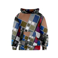 Abstract Composition Kids  Pullover Hoodie