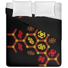 Algorithmic Drawings Duvet Cover Double Side (california King Size)