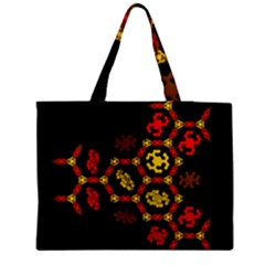 Algorithmic Drawings Medium Tote Bag by Nexatart