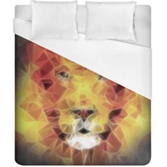 Fractal Lion Duvet Cover (california King Size) by Nexatart