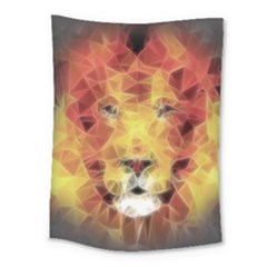 Fractal Lion Medium Tapestry