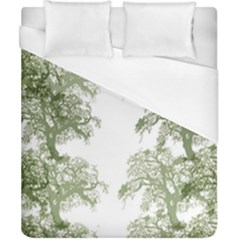 Trees Tile Horizonal Duvet Cover (california King Size) by Nexatart