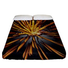 Pyrotechnics Thirty Eight Fitted Sheet (king Size)