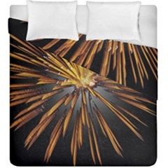 Pyrotechnics Thirty Eight Duvet Cover Double Side (king Size) by Nexatart