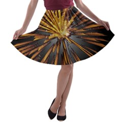 Pyrotechnics Thirty Eight A Line Skater Skirt