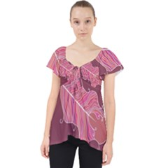 Plumelet Pen Ethnic Elegant Hippie Dolly Top
