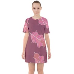 Plumelet Pen Ethnic Elegant Hippie Mini Dress