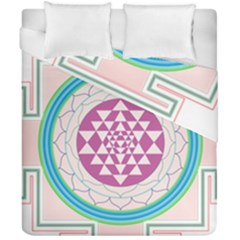 Mandala Design Arts Indian Duvet Cover Double Side (california King Size) by Nexatart