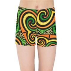 Celtic Celts Circle Color Colors Kids Sports Shorts