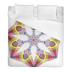 Colorful Chromatic Psychedelic Duvet Cover (full/ Double Size) by Nexatart