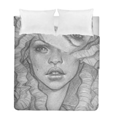 Dreaded Princess  Duvet Cover Double Side (full/ Double Size) by shawnstestimony