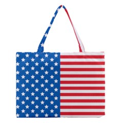 Usa Flag Medium Tote Bag by stockimagefolio1