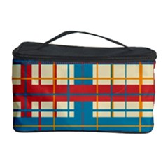 Plaid Pattern Cosmetic Storage Case by linceazul