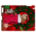 Christmas, Funny Kitten With Gifts Apple iPad 3/4 Hardshell Case View1