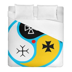 Assianism Symbol Duvet Cover (full/ Double Size) by abbeyz71