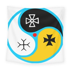 Assianism Symbol Square Tapestry (large) by abbeyz71