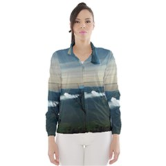 Bromo Caldera De Tenegger  Indonesia Wind Breaker (women)