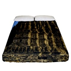 Prambanan Temple Fitted Sheet (queen Size)