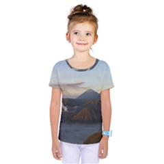 Sunrise Mount Bromo Tengger Semeru National Park  Indonesia Kids  One Piece Tee