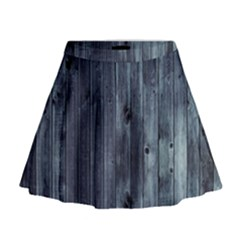 Grey Fence 2 Mini Flare Skirt by trendistuff