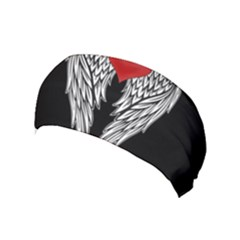Angel Heart Tattoo Yoga Headband