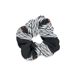 Angel Heart Tattoo Velvet Scrunchie