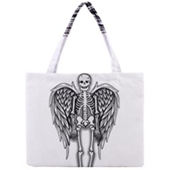 Angel Skeleton Mini Tote Bag