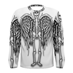 Angel Skeleton Men s Long Sleeve Tee