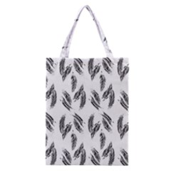 Feather Pattern Classic Tote Bag by Valentinaart