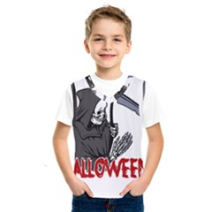 Death   Halloween Kids  Sportswear