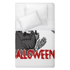 Death   Halloween Duvet Cover (single Size) by Valentinaart