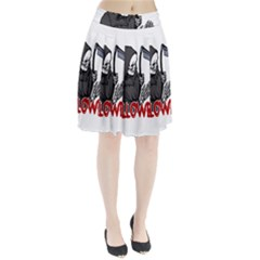 Death   Halloween Pleated Skirt