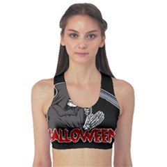 Death - Halloween Sports Bra