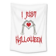 I Just Love Halloween Medium Tapestry by Valentinaart