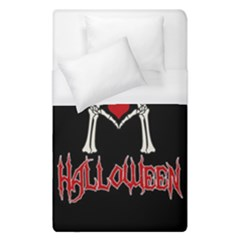 I Just Love Halloween Duvet Cover (single Size) by Valentinaart