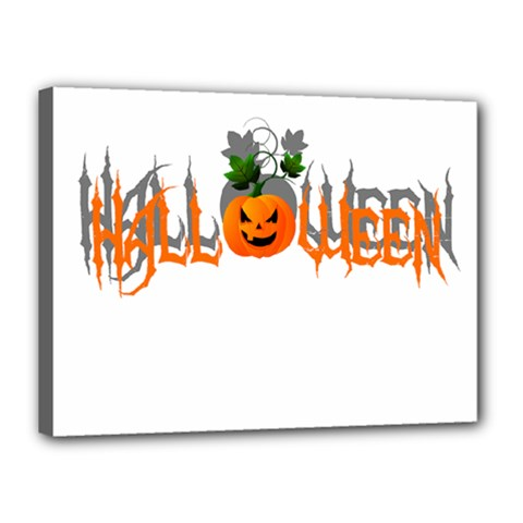 Halloween Canvas 16  X 12  by Valentinaart